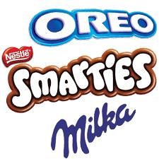 OOH Milka Oreo Smarties